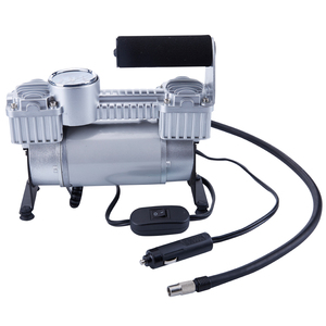 TIREWELL TW2001 12V Tire Inflator-Heavy Duty Portable Air Compressor Connect the Battery